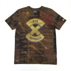 Nike FootballX Custom Paint Tie Dye Bleach T-Shirt